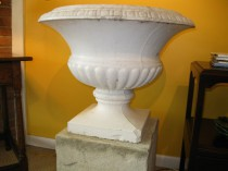 Large Painted Urn