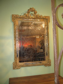 19th C Gilded Mirror SOLD