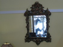 Pr of Italian Painted Mirrors