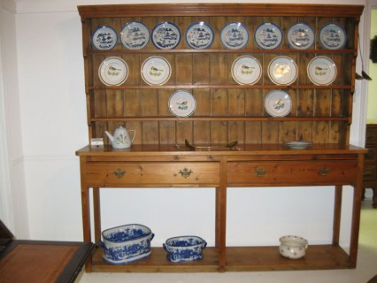 19th C Pine Tall Welsh Dresser   SOLD