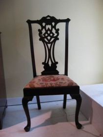 Chippendale-style Side Chair