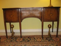 19th C Mahogany Sideboard
