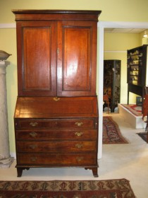 18th c Oak Secretary