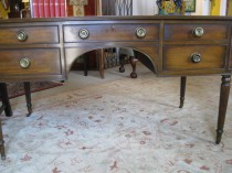 Mid 20th C Mahogany Kittinger Desk    SOLD