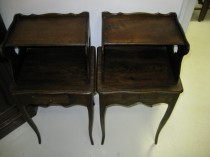 Pair of  E 20th C  Side tables