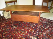 19th c New England Pine Settle SOLD