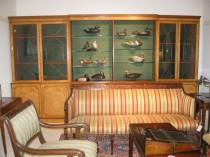 Birdseye Maple Bookcase