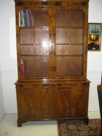 early 20th c Bookcase/Breakfront     SOLD