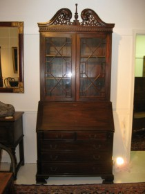 Early 20th c Mahgoany Secretary   SOLD