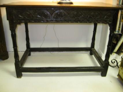 18th c Oak Table