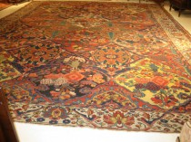Antique Persian Baktieri 13.10 x 18.4   SOLD