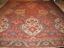 19th c Persian Serapi  10 x 12    SOLD