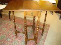 early 20th c Oak Gateleg Table