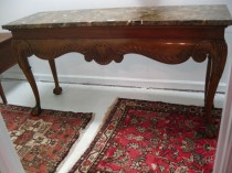 Marble Top Sideboard/console