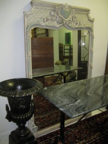 mid 20th c French Carved Mirror SOLD