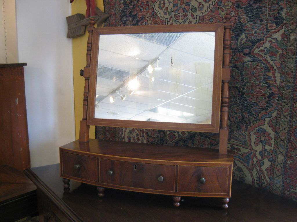 late 19th c American Shaving Mirror
