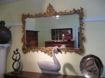 Gilt Rococo-Style Wall Mirror SOLD