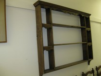 19th c  English Hanging Plate Rack