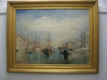 copy of J M W Turner Venetian Oil Painting