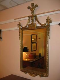 Federal-Style Giltwood Mirror