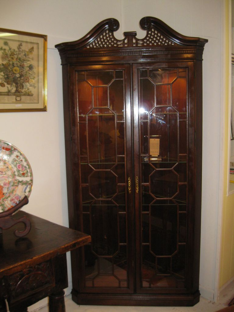 Corner Cupboard by The Harden Furniture Company