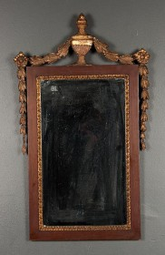 19th c Giltwood Mirror    SOLD