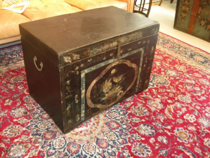 19th c Mongolian Trunk SOLD