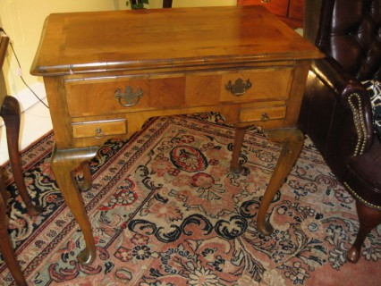 18th c Walnut Lowboy
