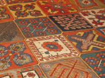 Antique Persian Baktieri  11.2 x 15.8   SOLD