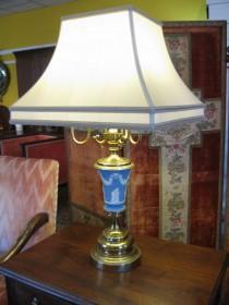 Wedgewood Jasperware Tall Lamp