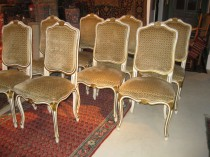 Set of 8 French Dining Chairs