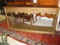 Long Console Table   SOLD