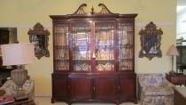 George III-Style Mahogany Breakfront