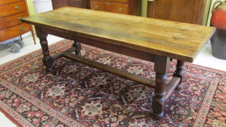 early 19th c English Oak  Dining Table   SOLD