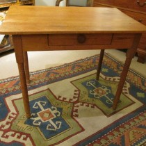 19th c American Pine Table