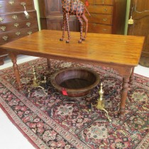 19th c Pine Farm Table   SOLD