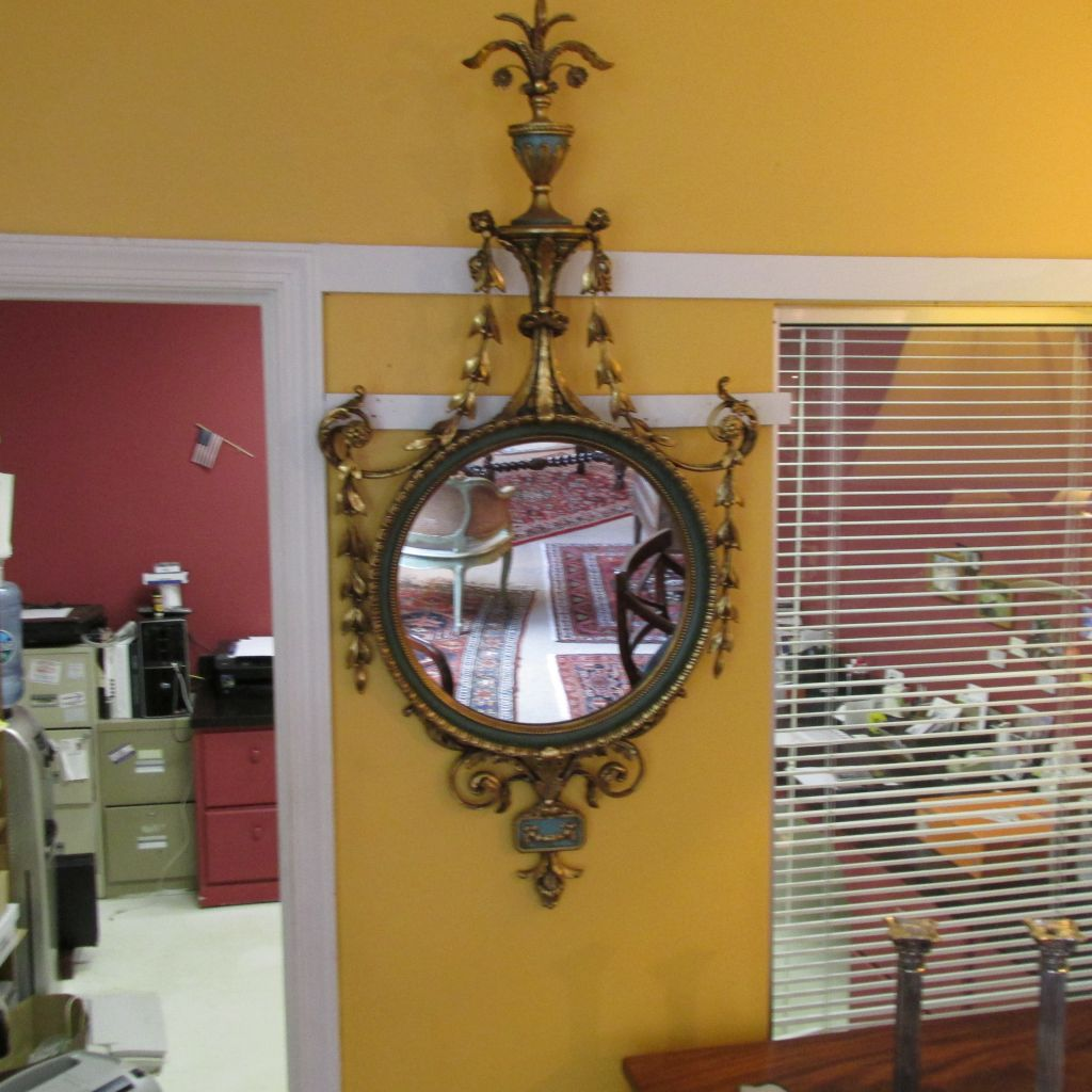 Carved and Giltwood Mirror