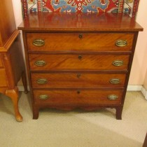 Early 19th c English Bachelor's Chest