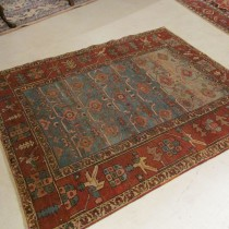 19th c Persian Bakshiesh  4.6 x 5.10