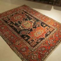 Antique Persian Heriz  4.7 x 6.3