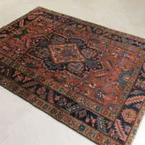 Antique Persian Heriz  4.6 x 6.2