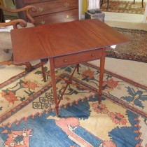 19th c Mahogany Pembroke Table