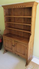18th c Irish Stepback Cupboard