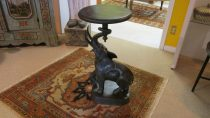 Bronze Elephant Plant Stand   SOLD