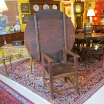 18th c American Chair Table   SOLD