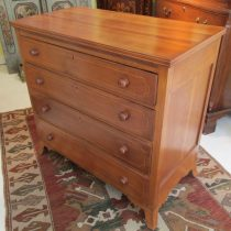 Early 19th c Federal Chest