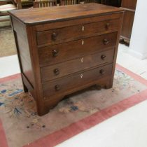 19th c Virginia Walnut Chest of Drawers