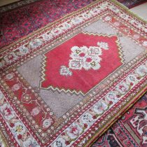 Antique Turkish Oushak  3.9 x 6
