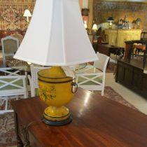 English Toleware Lamp