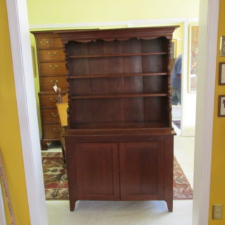 19th c American Cupboard
